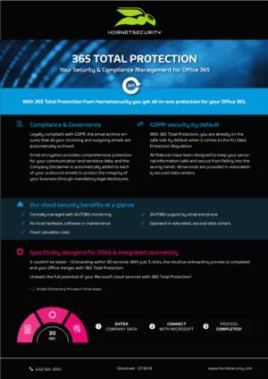 Hornetsecurity 365 TOTAL PROTECTION