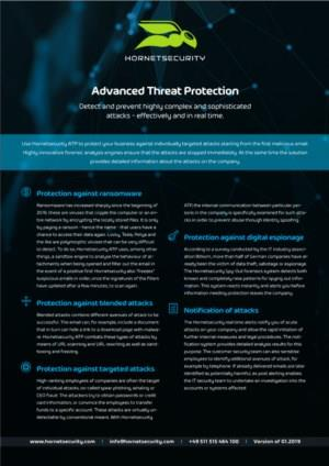 Hornetsecurity Advanced Threat Protection