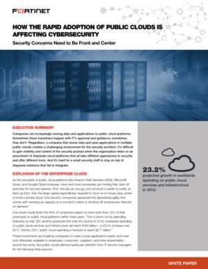 De risico's van de private Cloud adoptie voor Cybersecurity