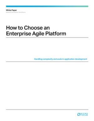 Gids voor het kiezen van het juiste Agile platform