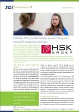 Zorginstelling HSK gaat van reactief naar proactief beheer en monitoring van nieuwe IT-omgeving