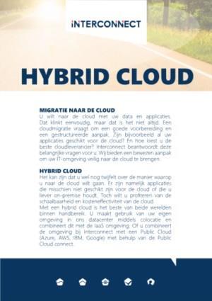 Hybrid Cloud: Het beste van beide werelden!