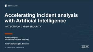 Accelerating incident analysis with Artificial Intelligence (Powered by Arrow ECS)