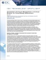 De voordelen van geïntegreerd datacenter lifecycle management