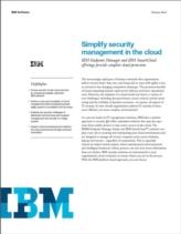 Het vereenvoudigen van security management in de cloud