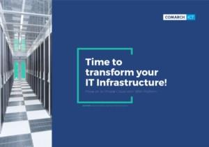 Tijd voor een transformatie van jouw IT-infrastructuur
