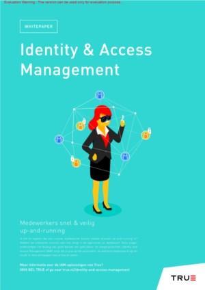 Identity & Access Management: nieuwe medewerkers binnen enkele minuten veilig up-and-running