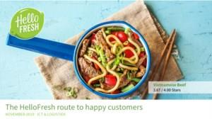 The HelloFresh route to happy customers