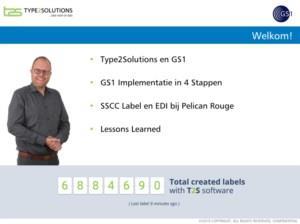 GS1 implementatie. Zo simpel kan het zijn.