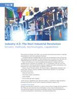 Industrie 4.0: de nieuwe industriële revolutie?