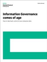 Information Governance is volwassen! Hoe u de controle terugkrijgt over uw bedrijfsdata