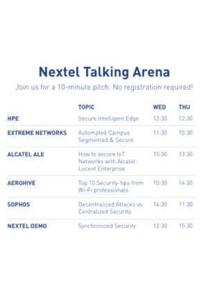 Nextel Expert Area & Synchronized Security Demo