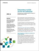 Integratie van mobile in uw organisatie: Wat levert het op?
