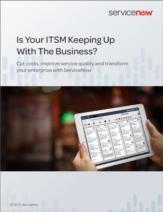 Houdt uw IT Service Management gelijke tred met de groei van uw bedrijf?