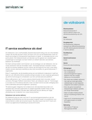 Hoe kan IT servicemanagement zorgen voor een service die beter en sneller is?