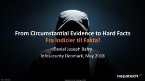 From Circumstantial Evidence to Hard Facts, Fra Indicier til Fakta!