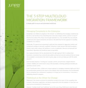 The 5-step multicloud migration framework explained