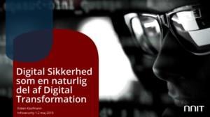 hvordan sikrer du dig at sikkerheden er inkluderet i den digitale forretningsstrategi?
