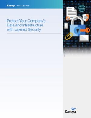 Protect your company's data and infrastructure with layered security