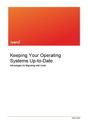 Houd uw besturingssystemen eenvoudig en veilig up-to-date