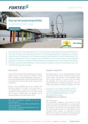Hoe de gemeente Den Haag meer grip heeft op het projectenportfolio