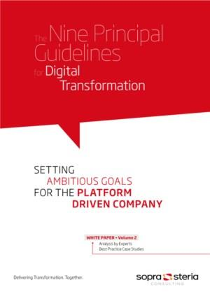 The Nine Principal Guidelines for Digital Transformation: SETTING AMBITIOUS GOALS FOR THE PLATFORM DRIVEN COMPANY