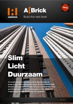A-Brick. Slim licht en duurzaam gevelsysteem