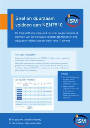 Snel en duurzaam voldoen aan NEN7510