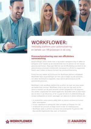 AMARON Workflower: Veelzijdig platform voor automatisering en beheer van HR-processen in de zorg