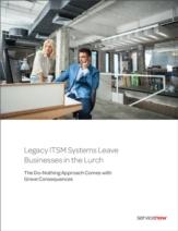 Legacy IT Service Management systemen laten bedrijven in de steek