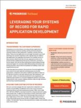 Application Platform-as-a-service en system of records (SOR): ideale mix voor snellere  applicatieontwikkeling