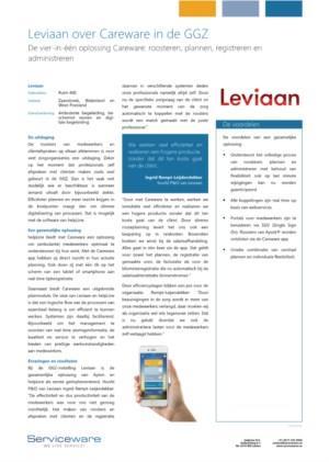 Leviaan over Serviceware in de praktijk
