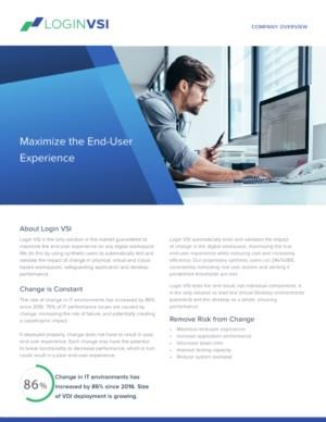 Maximize Your End-User Experience