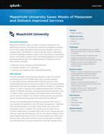 Universiteit Maastricht levert verbeterde diensten en bespaart honderden manuren