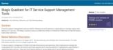 Welke IT Service Support Management tools komen het beste uit Gartner's test?