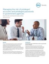 De risico's van privileged accounts en wachtwoorden in overheidsinstellingen