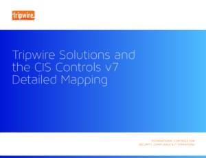 Mapping Cis Controls to Tripwire Solutions