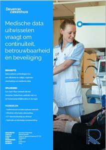 Veilig dataverkeer Deventer Ziekenhuis dankzij Relined en Fujitsu