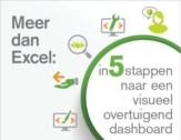 Meer dan Excel: in 5 stappen naar een visueel overtuigend dashboard