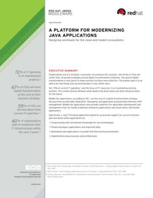 Een platform voor het moderniseren van Java Applicaties