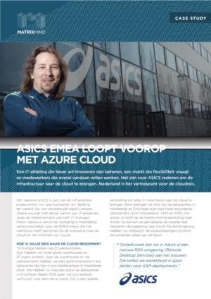ASICS EMEA loopt voorop met Azure Cloud