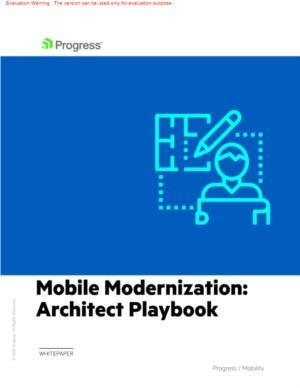 Playbook voor een mobiele architectuur voor de toekomst