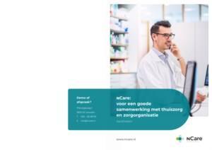 nCare voor apotheken: voor een goede samenwerking met thuiszorg en zorgorganisatie