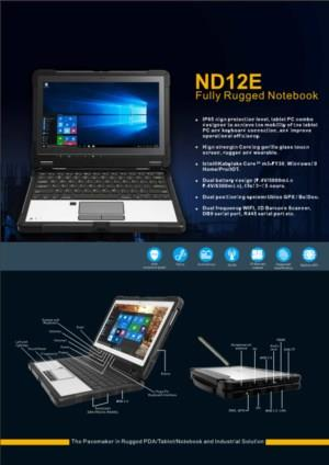 ND12E Fully Rugged Tablet Notebook