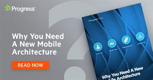 De noodzaak van een nieuwe mobiele architectuur voor uw zakelijke apps