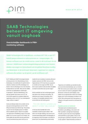 SAAB Technologies beheert IT omgeving vanuit ooghoek