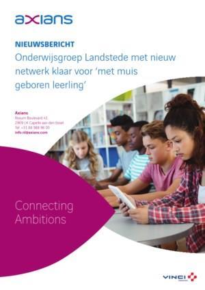 Onderwijsgroep Landstede met nieuw netwerk klaar voor 'met muis geboren leerling'