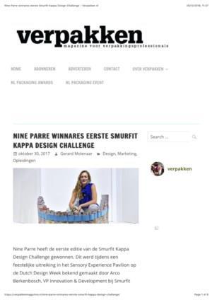 Nine Parre winnares eerste Smurfit Kappa Design Challenge