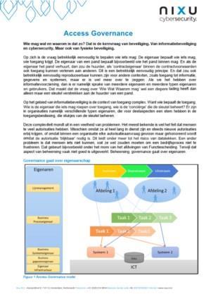 De 5 typen eigenaren van een succesvolle Access Governance structuur