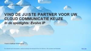De toegevoegde waarde van Unified Communications as a Service